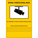 cartel video vigilancia
