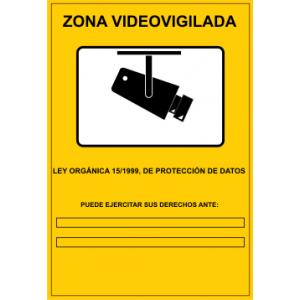Multan a un negocio por no avisar de sus cámaras de video vigilancia