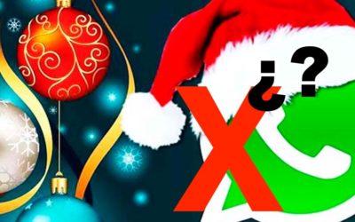 Envío de felicitaciones navideñas o spam